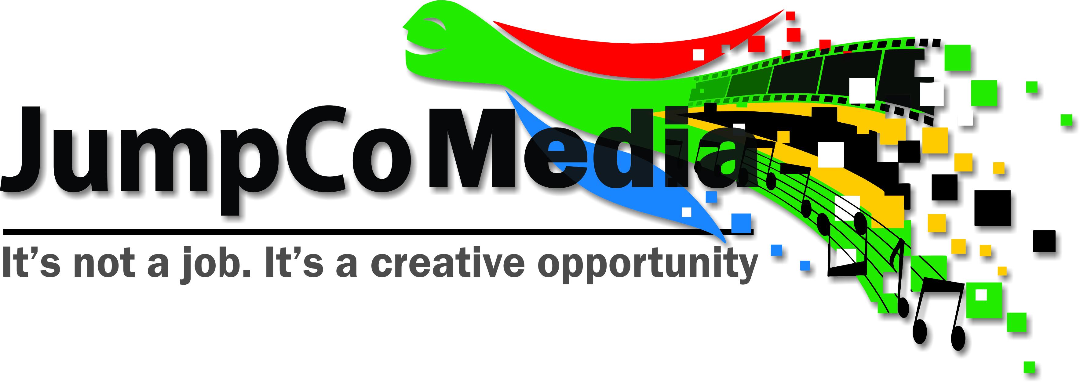 JumpCo Media logo - CMYK